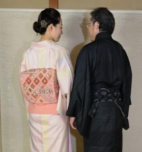 紅花紬&大島紬